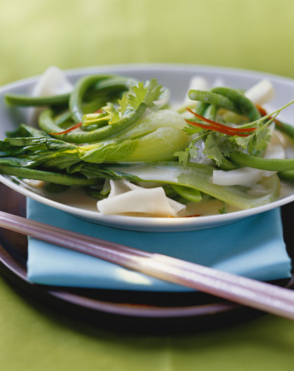 Thai Noodles with Broth