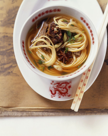 Noodle Broth with Star Anise