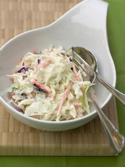 Finely-shredded Raw Cabbage Salad