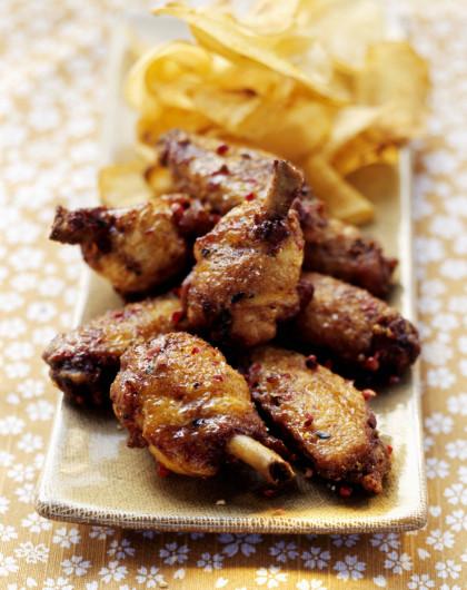 Zesty BBQ Wings