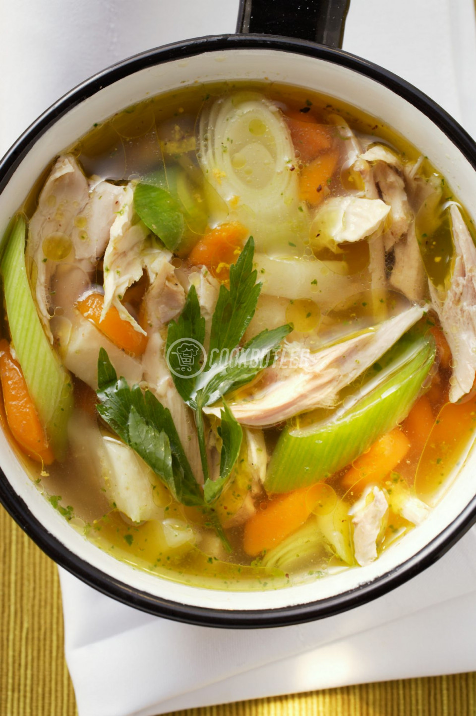 Hearty Chicken and Veggie Broth | preview