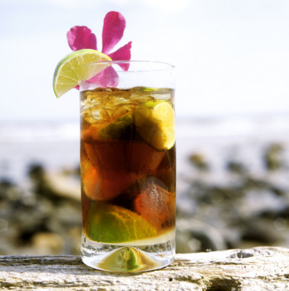 Cuban Rum and Cola Drink