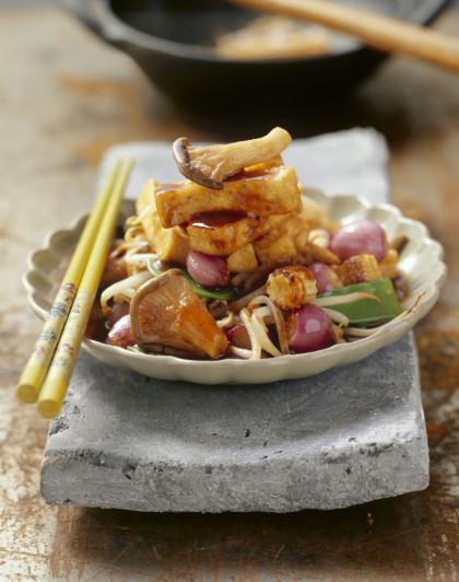 Stir-fried Tofu with Vegetables
