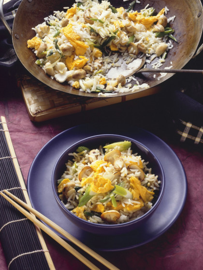 Breakfast-style Chinese rice