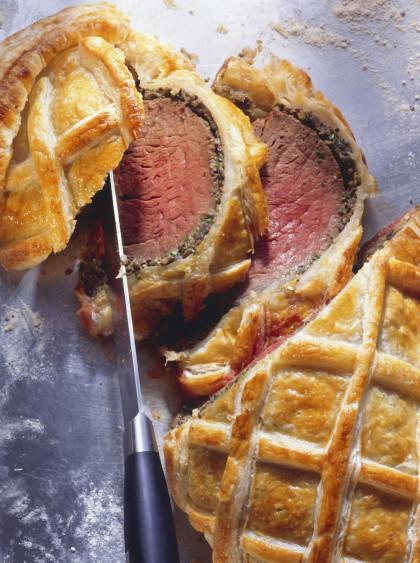 Beef Tenderloin en Croute