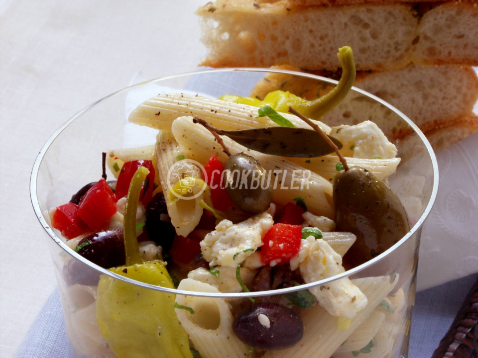 Greek Style Pasta Salad | preview