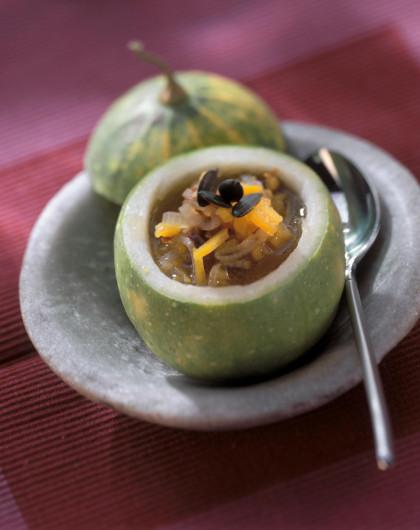 Pumpkin Citrus Soup
