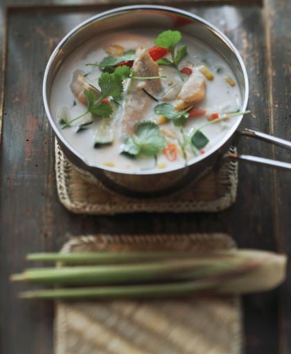 Thai Coconut Milk Soup