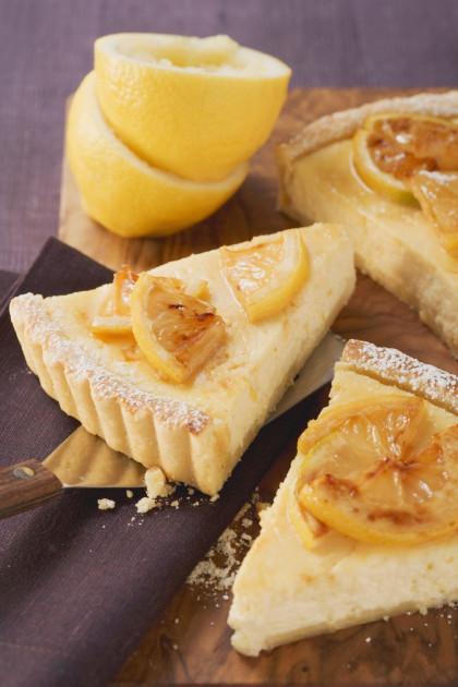Ricotta and Lemon Pastry Tart