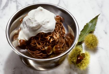Chestnut chocolate puree