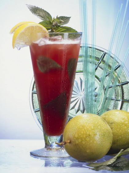 Classic cherry brandy cocktail
