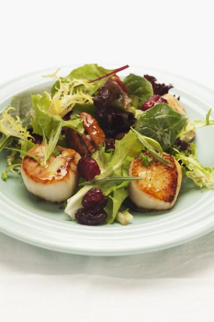 Pan-Seared Scallops Salad