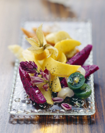 Tropical gourmet salad