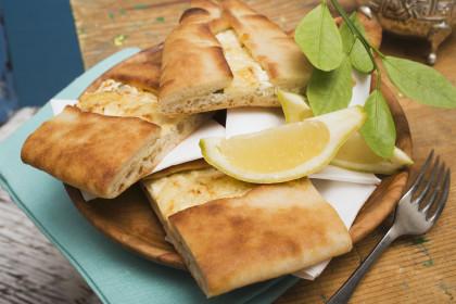Stuffed Turkish flatbread