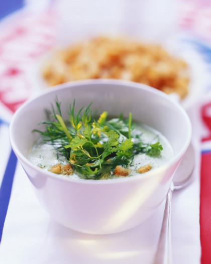 Mixed Herb Veloute