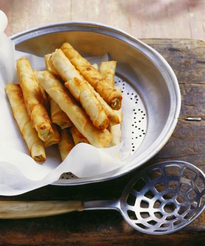 Feta and herb rolls