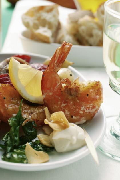 Grilled Teriyaki Shrimp