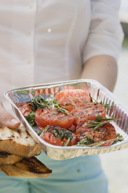 Herb-grilled Tomatoes