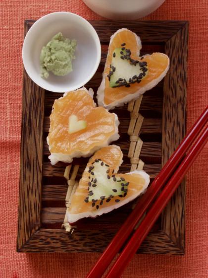Sushi Hearts