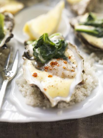 Hollandaise Oysters