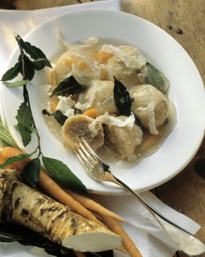 Stuffed Fish with Bay Leaves