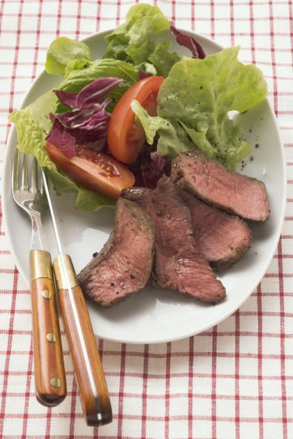 Sliced Roast Sirloin Steak