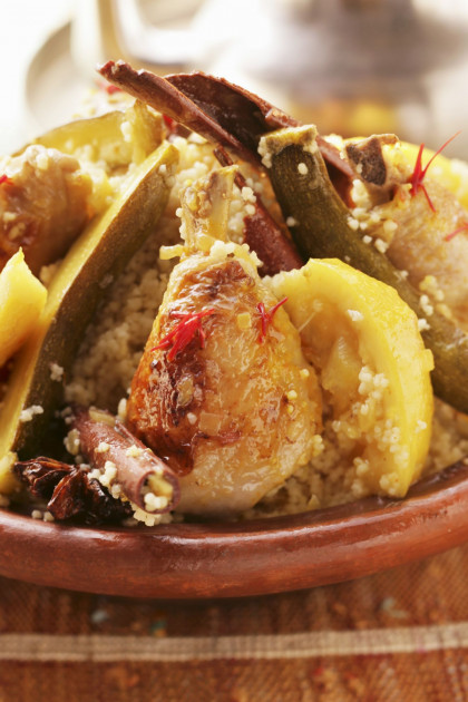 Chicken with Lemon Couscous