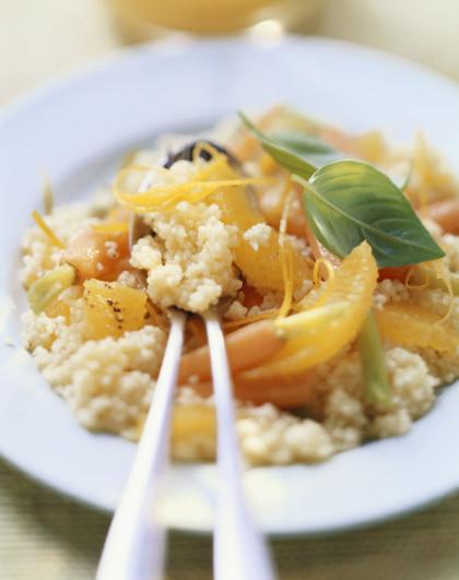 Grain Salad with Citrus