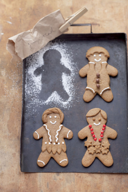 Decorated Gingerbread Men