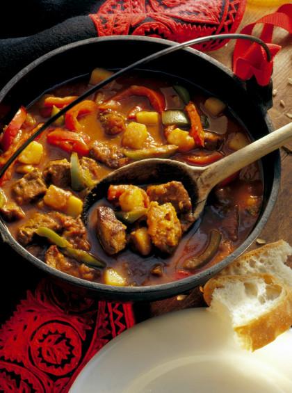 Classic Beef Goulash Stew