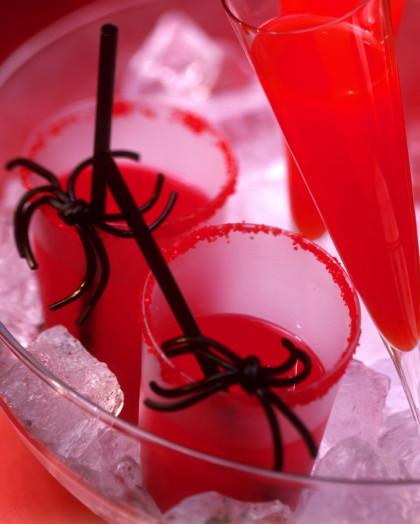 Kids 'blood' drinks