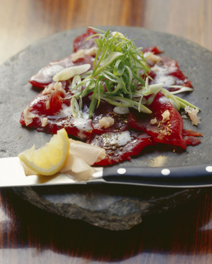 Tuna with Elderflower Buttermilk Foam