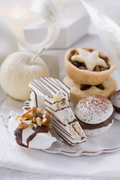 Festive cookies and treats